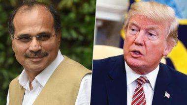 कांग्रेस नेता अधीर रंजन चौधरी की विवादित टिप्पणी, अमेरिकी राष्ट्रपति डोनाल्ड ट्रंप की तुलना 'मोगैम्बो' से की