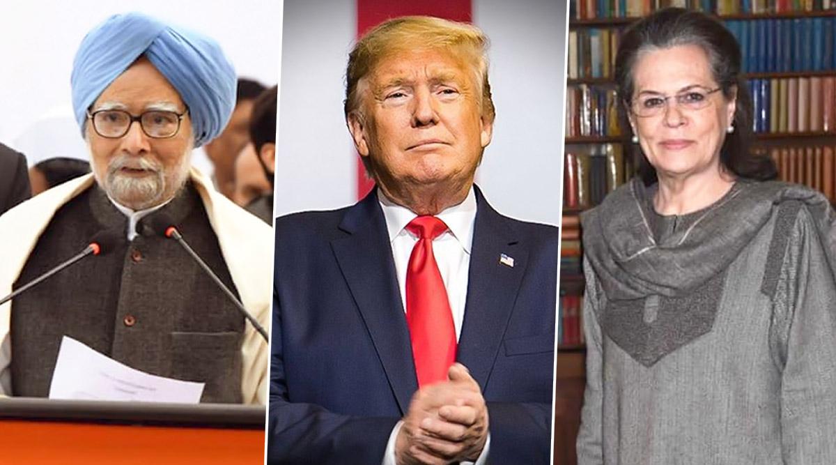 डोनाल्ड ट्रंप के सम्मान में राष्ट्रपति भवन में होगा रात्रिभोज, मनमोहन सिंह और गुलाम नबी आजाद ने आने से किया मना