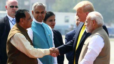 सीएम विजय रूपाणी बोले गुजरात सरकार ने डोनाल्ड ट्रंप की यात्रा पर 100 करोड़ नहीं बल्कि 8 करोड़ किए खर्च