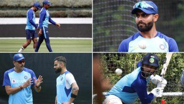 IND vs NZ 1st ODI Match 2020: पहले वनडे मैच के लिए टीम इंडिया ने की कड़ी प्रैक्टिस, देखें तस्वीरें