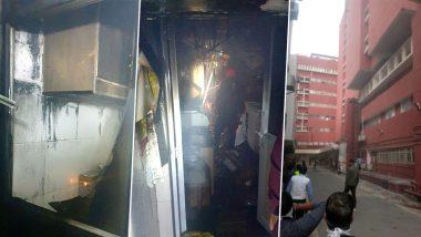 दिल्ली के AIIMS के ग्राउंड फ्लोर पर लगी भीषण आग, फायर ब्रिगेड  की 10 गाड़ियां मौके पर पहुंची