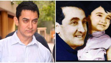 आमिर खान ने पिता ताहिर हुसैन की पुण्यतिथि पर तस्वीरें शेयर कर उन्हें किया याद