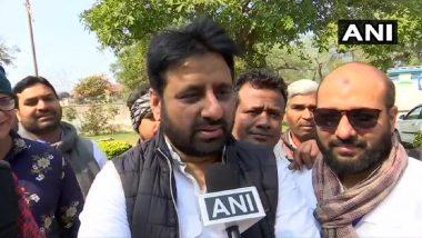 उत्तर प्रदेश: मेरठ में AAP नेता अमानतुल्लाह के परिजनों का आरोप, जीत पर जश्न मानाने के दौरान UP पुलिस ने पीटा