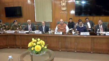 दिल्ली हिंसा पर गृहमंत्री अमित शाह द्वारा बुलाई बैठक खत्म, सीएम केजरीवाल ने कहा- सभी अमन चाहते हैं
