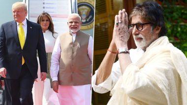 Namaste Trump Event: डोनाल्ड ट्रम्प के कार्यक्रम में पहुंचेंगे अमिताभ बच्चन समेत ये बड़े सेलिब्रिटीज