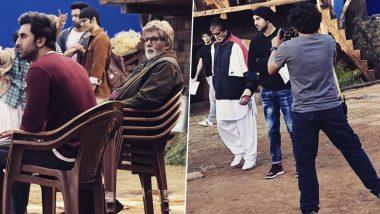 अमिताभ बच्चन ने फिल्म ब्रह्मास्त्र के सेट से रणबीर कपूर संग शेयर की कई फोटोज, दिखा दमदार लुक