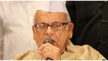 सीएए विरोधी प्रदर्शन के लिए उत्तर प्रदेश के पूर्व राज्यपाल अजीज कुरैशी के खिलाफ मामला दर्ज