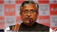 Bihar Assembly Election 2020: विपक्ष पर भड़के सुशील कुमार मोदी, पूछा-10 लाख लोगों के लिए कहां से लाएगा 58,415.06 करोड़ रुपये