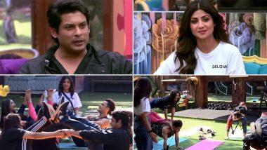 Bigg Boss 13 Weekend Ka War: शिल्पा शेट्टी ने घरवालों को कराया योगा, कंटेस्टेंट्स ने याद किया अपना बेहतरीन लम्हा