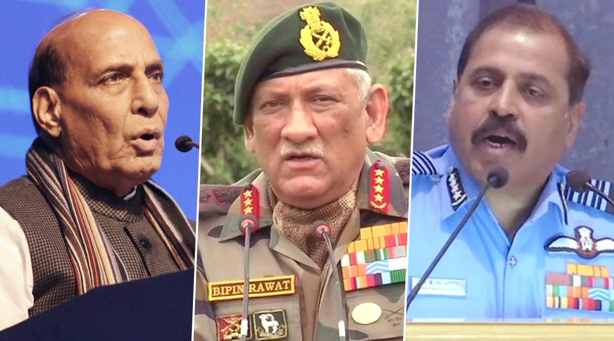 रक्षा मंत्री राजनाथ सिंह ने कहा- सीमापार से आतंकवाद की घटनाएं नए युद्ध का उदहारण