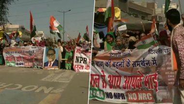 दिल्ली: गृह मंत्री अमित शाह से मिलने जा रहे थे शाहीन बाग के प्रदर्शनकारी, पुलिस ने वापिस लौटाया