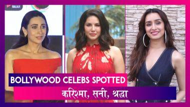 Karisma Kapoor At Mentalhood Trailer Launch; Shraddha Kapoor, Tiger Shroff, Sunny Leone, Rajkummar Rao, Patralekha Also Spotted | Bollywood Celebs Spotted