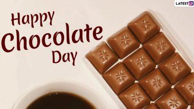 Happy Chocolate Day 2020 Wishes: वैलेंटाइन वीक के तीसरे दिन भेजें ये हिंदी WhatsApp Stickers, Facebook Messages, Wallpapers, Shayaris, GIF Images, SMS और दें चॉकलेट डे की शुभकामनाएं