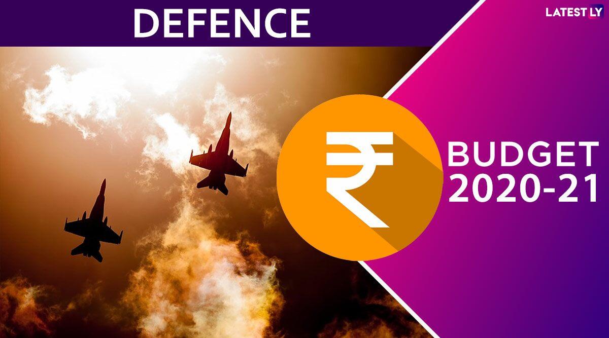 Union Budget 2020: भारत के रक्षा बजट में 6 फीसदी का इजाफा, 3.37 लाख करोड़ रुपये आवंटित