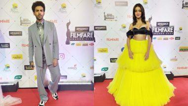 Filmfare Awards 2020 Red Carpet Pics: अनन्या पांडे से लेकर कार्तिक आर्यन तक बॉलीवुड के तमाम सेलेब्स ने दिखाया अपना जलवा