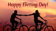 Flirting Day 2020: एंटी-वैलेंटाइन वीक के चौथे दिन मनाया जाता है फ्लर्टिंग डे, इन आसान तरीकों से आप कर सकते हैं पार्टनर से फ्लर्ट