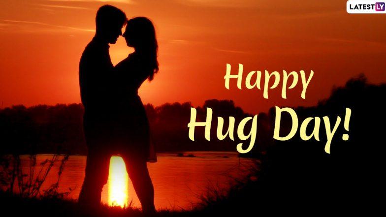 Happy Hug Day 2020 Wishes: हग डे पर इन खूबसूरत हिंदी Messages, WhatsApp Stickers, Facebook Greetings, GIF Images, Shayaris, SMS और वॉलपेपर्स के जरिए पार्टनर को भेजें प्यार भरी झप्पी