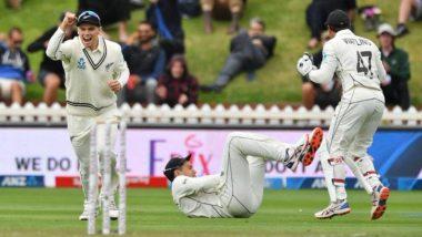 India vs New Zealand 1st Test Match Day 2: टिम साउथी और काइल जैमिसन की घातक गेंदबाजी, पहली पारी में महज 165 रन पर ऑल आउट हुई टीम इंडिया