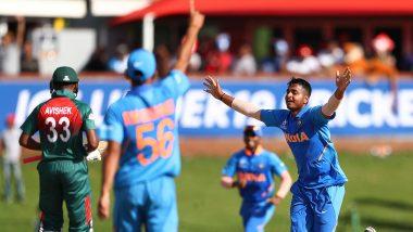 IND vs BAN U19 World Cup 2020: बारिश की वजह से मैच रुका, बांग्लादेश इतिहास रचने से महज 15 रन दूर