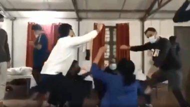 Coronavirus: चीन के वुहान से लौटे भारतीयों ने मानेसर शिविर में किया हरियाणवी गाने पर डांस, वीडियो हुआ वायरल