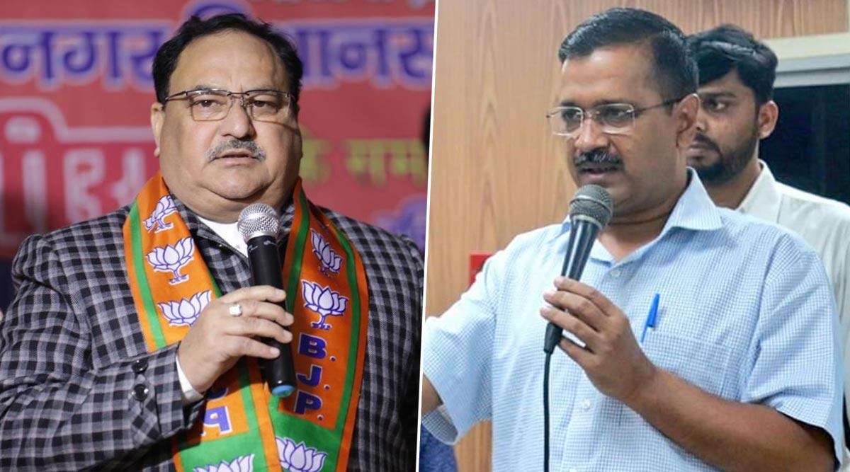 दिल्ली विधानसभा चुनाव 2020: बीजेपी अध्यक्ष नड्डा का केजरीवाल पर वार, दिल्ली के CM से पूछा ये चुभने वाला सवाल