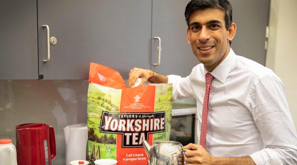 ब्रिटेन के वित्त मंत्री ऋषि सुनक के चाय बनाते ही मचा बवाल, देनी पड़ी सफाई