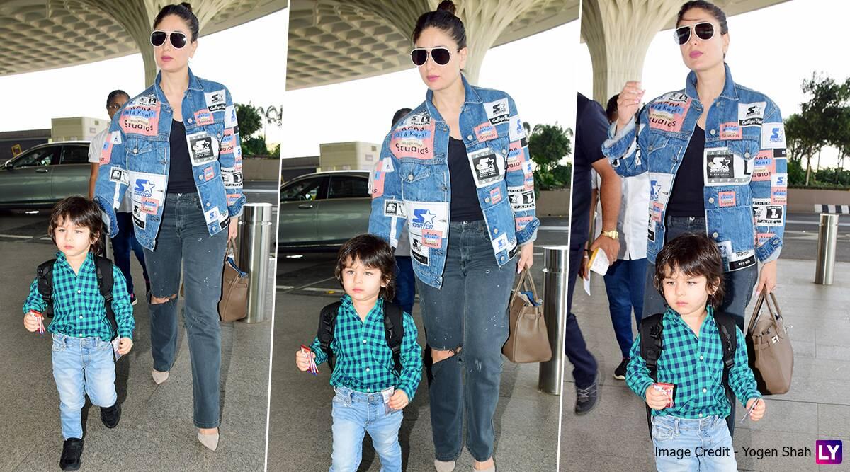 करीना कपूर के साथ बेटे तैमूर का एअरपोर्ट पर दिखा स्टाइलिस्ट लुक, मासूमियत देख हो जाएंगे फिदा