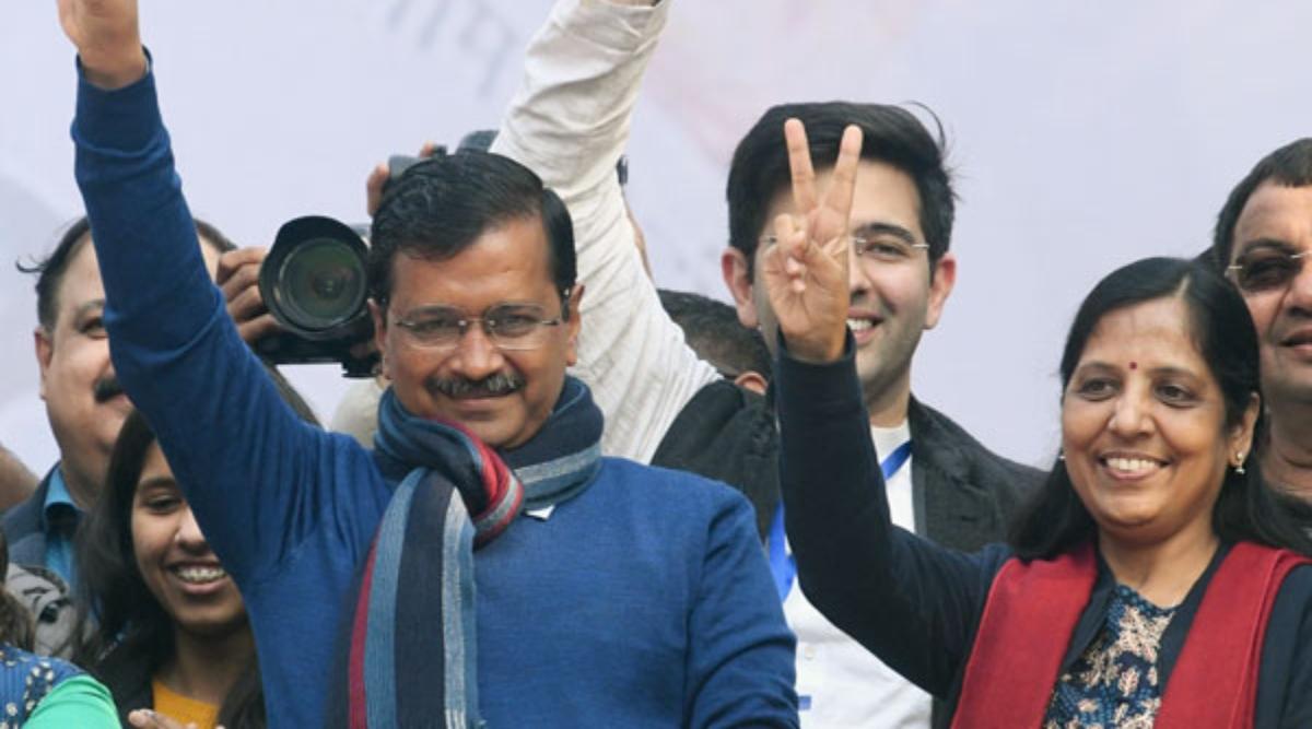 दिल्ली विधानसभा चुनाव परिणाम 2020: AAP ने 62 सीटों पर लहराया परचम, इन वजहों से दिल्ली में केजरीवाल ने लगाया जीत का हैट्रिक