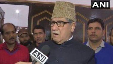 जम्मू कश्मीर: नेशनल कॉन्फ्रेंस के सांसद मोहम्मद अकबर लोन के बेटे हिलाल पर लगा पीएसए