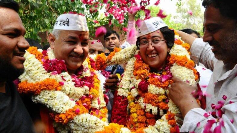 दिल्ली चुनाव परिणाम 2020: पटपड़गंज सीट से मनीष सिसोदिया की जीत, बीजेपी उम्मीदवार रविंद्र सिंह नेगी को हराया