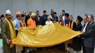 प्रधानमंत्री मोदी ने अजमेर शरीफ दरगाह पर चढ़ाने के लिए शिष्टमंडल को चादर सौंपी