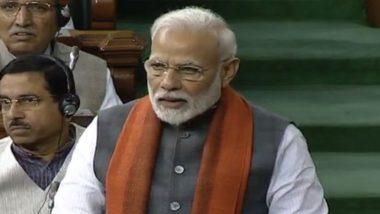 राम मंदिर निर्माण के लिए केंद्र ने बनायाट्रस्ट, पीएम मोदी ने संसद में की घोषणा