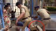 शर्मनाक! तेलंगाना पुलिस की हैवानियत,  लड़की के शव के पास बिलखते पिता को मारी लात, वीडियो वायरल