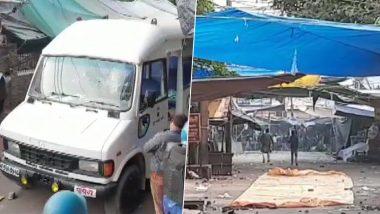 अलीगढ़: सीएए के खिलाफ प्रदर्शन कर रहे प्रदर्शनकारियों ने पुलिस की जीप किया पथराव, इंटरनेट सेवा बैन