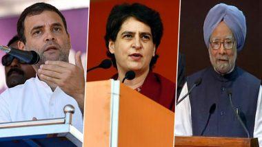 दिल्ली विधानसभा चुनाव 2020: कांग्रेस की ओर से राहुल-प्रियंका गांधी और पूर्व पीएम मनमोहन सिंह आज करेंगे रैली
