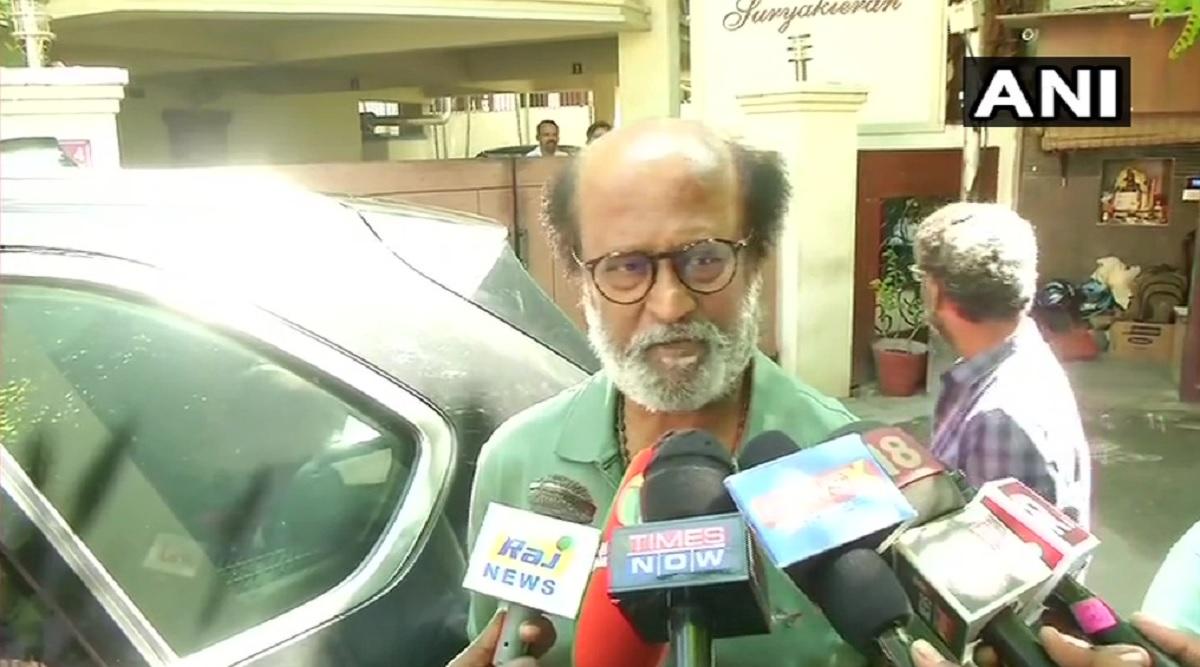 रजनीकांत ने सीएए पर किया केंद्र सरकार का समर्थन, कहा- अगर मुसलमानों पर इसका असर हुआ तो सबसे पहले मैं उनके साथ खड़ा रहूंगा
