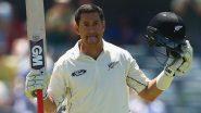 IND vs NZ 1st Test Match 2020: रॉस टेलर ने रचा इतिहास, क्रिकेट के तीनों फॉर्मेट में 100 मैच खेलने वाले बनें पहले खिलाड़ी