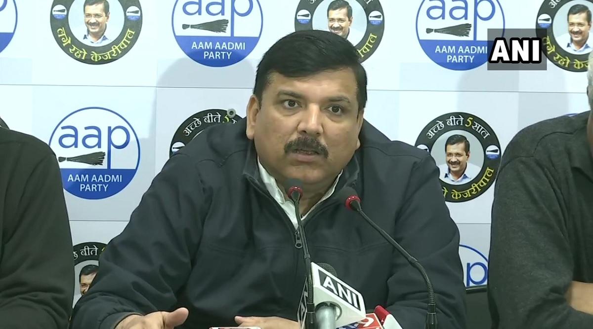 दिल्ली विधानसभा चुनाव परिणाम 2020: रुझानोंमें बहुमत पर संजय सिंह ने कहा- आज हिंदुस्तान जीत गया