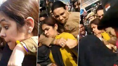 शाहीन बाग: बुर्के में कैमरा छिपाकर विरोध प्रदर्शन में पहुंची राइट विंग यूट्यूबर गुंजा कपूर, प्रदर्शनकारियों ने किया पुलिस के हवाले; देखें वीडियो