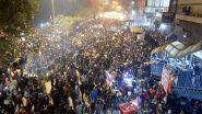 शाहीन बाग: नोएडा-फरीदाबाद सड़क को प्रदर्शनकारियों ने खोला, थोड़ी देर बाद फिर किया बंद