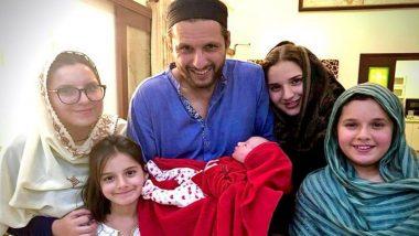 पाकिस्तान के पूर्व क्रिकेटर शाहिद अफरीदी बने 5वीं बेटी के पिता, खूबसूरत तस्वीर शेयर कर दी जानकारी, आप भी देखें