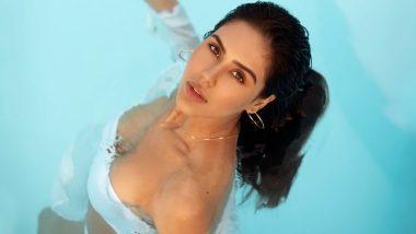 पंजाबी एक्ट्रेस सोनम बाजवा ने व्हाइट बिकिनी में लगाई आग, स्विमिंग पूल में नहाते हुए तस्वीरें हुई वायरल