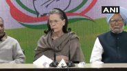 दिल्ली हिंसा को लेकर सोनिया गांधी का बीजेपी पर निशाना: कहा ये प्री-प्लान्ड  था, गृह मंत्री अमित शाह को देना चाहिए इस्तीफा