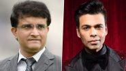 Sourav Ganguly Biopic: करण जौहर बनाएंगे दादा पर फिल्म, लीड एक्टर की तलाश शुरू