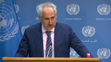 दिल्ली हिंसा: यूएन महासचिव स्टीफन दुजारिक बोले- हिंसक प्रदर्शन से दुखी, जल्द हालात पर काबू पाया जाए
