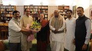 महाराष्ट्र के सीएम उद्धव ठाकरे ने की सोनिया गांधी से मुलाकात, सहयोग के लिए जताया आभार