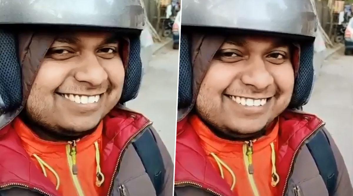 Zomato के डिलीवरी बॉय ने मचाया सोशल मीडिया पर तहलका, कंपनी के Twitter DP पर सोनू की तस्वीर देख उसकी मुस्कान के दीवाने हुए लोग