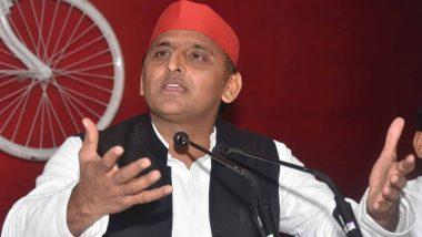 SP अध्यक्ष अखिलेश यादव ने BJP पर साधा निशाना, कहा- पार्टी को जश्न मनाने में कोई लोक-लाज नहीं