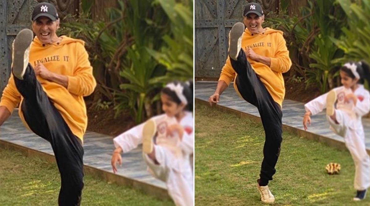 अक्षय कुमार ने बेटी नितारा को दी सेल्फ डिफेंस की ट्रेनिंग, ट्विंकल खन्ना ने शेयर की ये शानदार फोटो