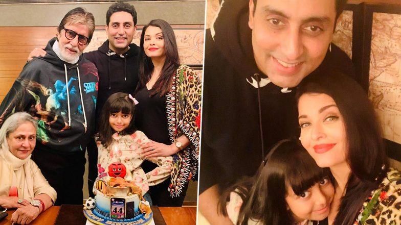 अभिषेक बच्चन के जन्मदिन पर पत्नी ऐश्वर्या राय बच्चन और पिता अमिताभ बच्चन का उमड़ा प्यार, ये स्पेशल फोटोज शेयर करके किया विश